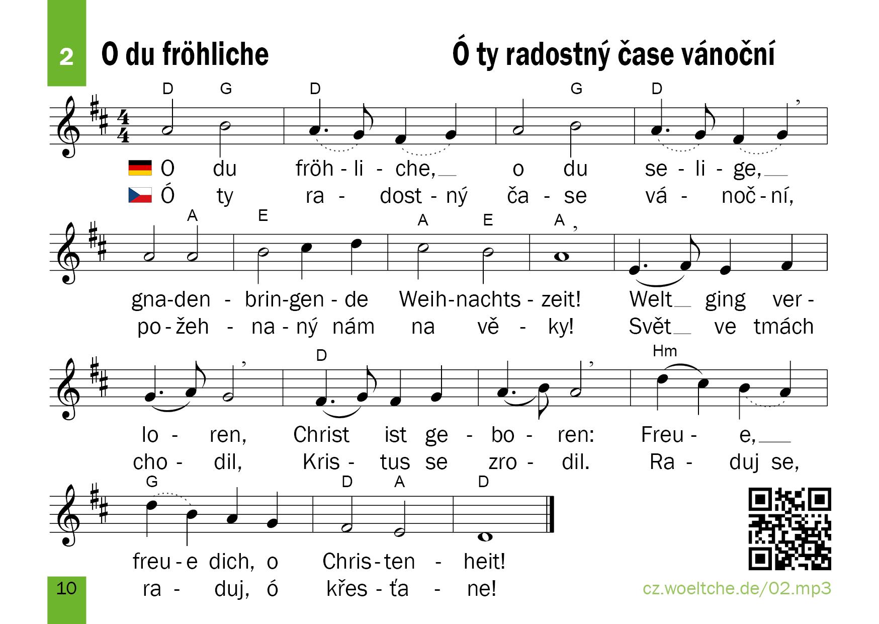 Download – Weihnachtslieder – Vánoční písně a koledy