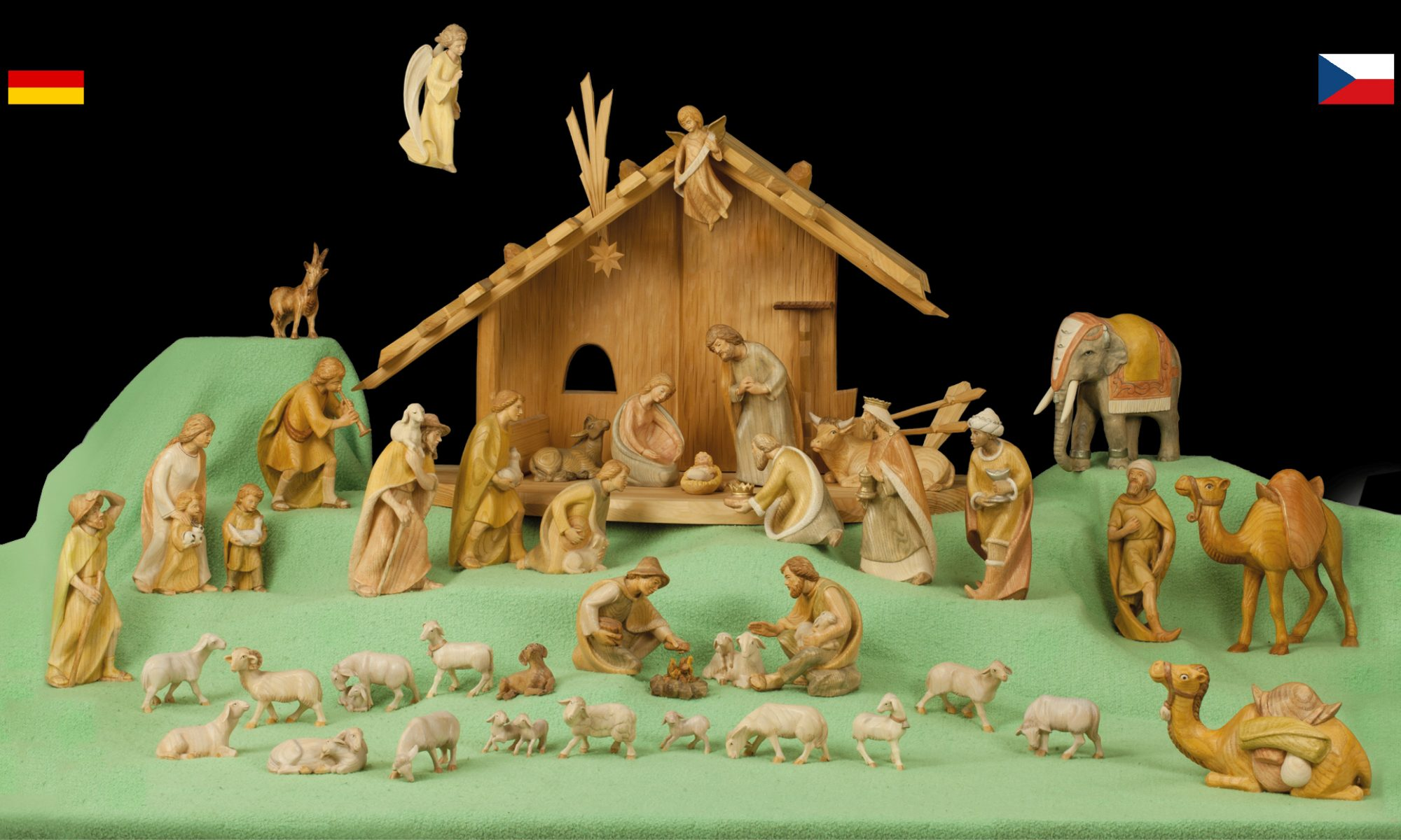 Weihnachtslieder - Vánoční písně a koledy